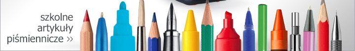 czas do szkoły - artykuły piśmiennicze