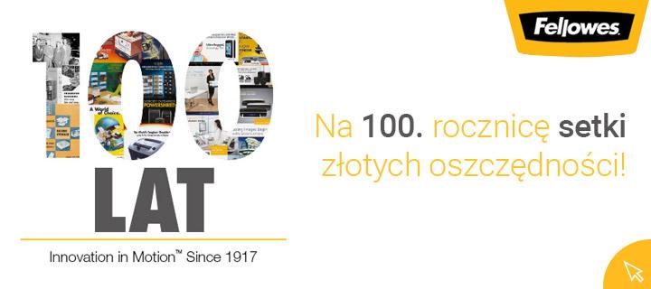 Na 100. rocznicę setki złotych oszczędności!