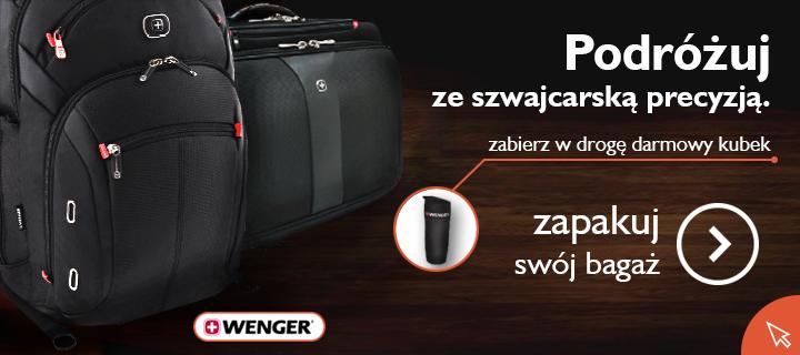 Gazetka lobos - torba lub plecak wenger - podróżuj ze szwajcarską precyzją